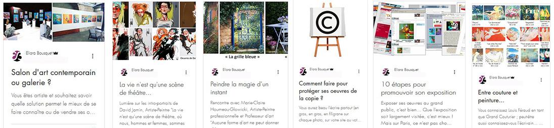 Tableaux Abstraits Art Eliora Bousquet