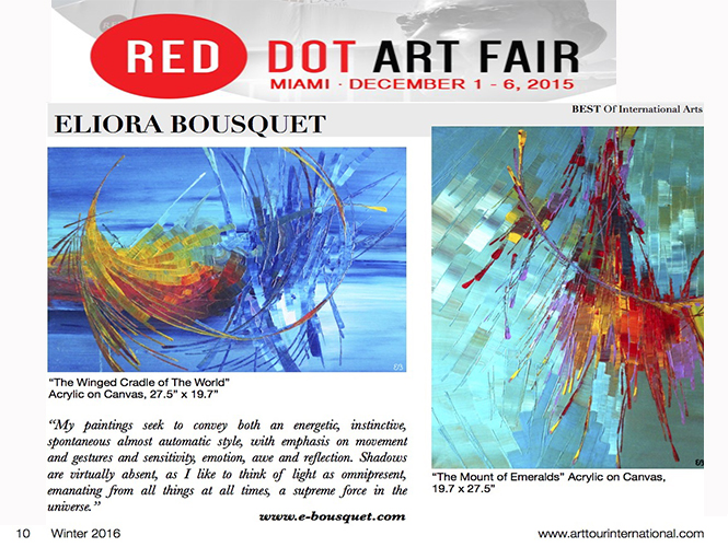 Best of International Art 2015 Eliora Bousquet