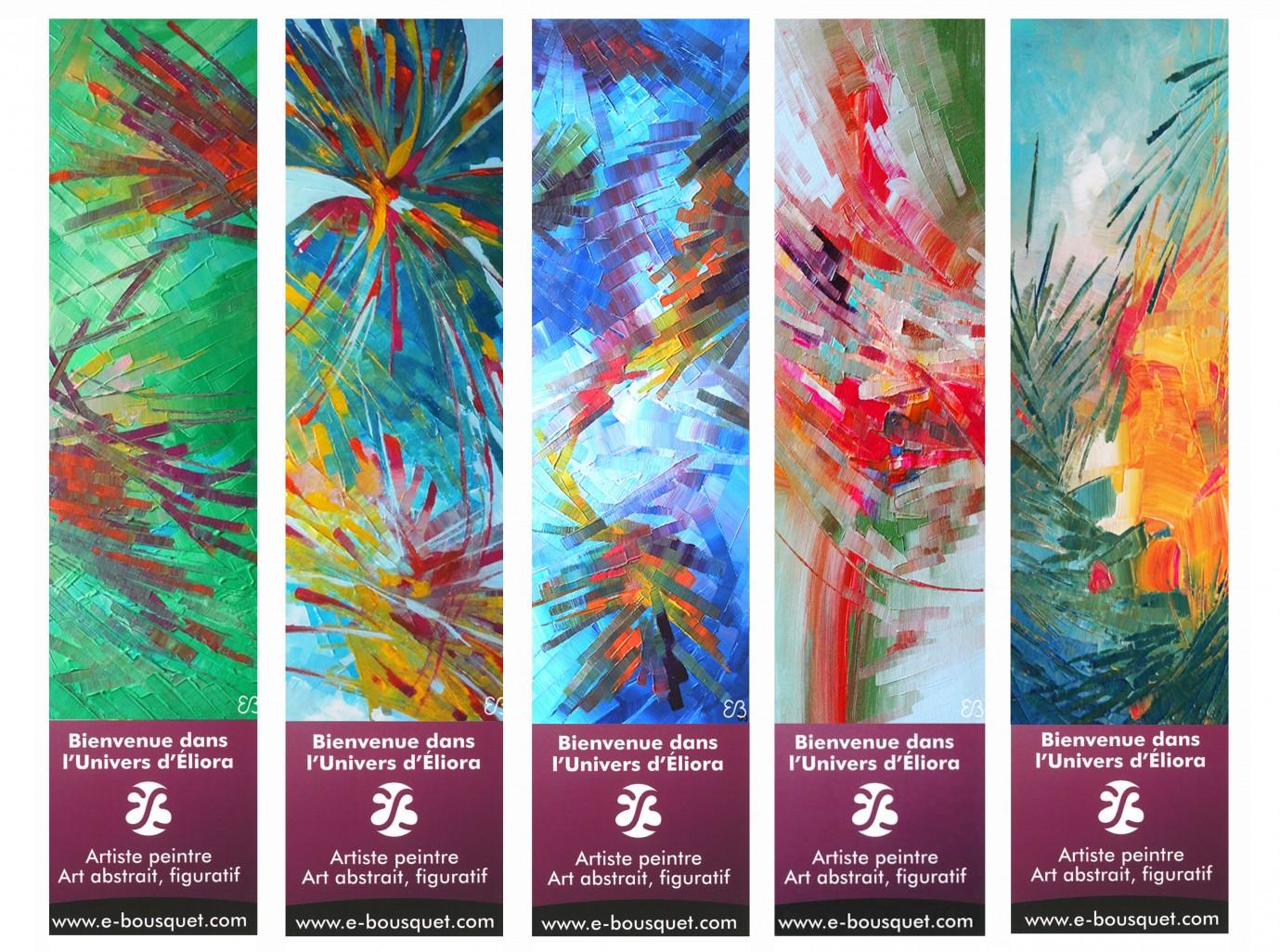 Marque Pages Creatifs Art Eliora Bousquet