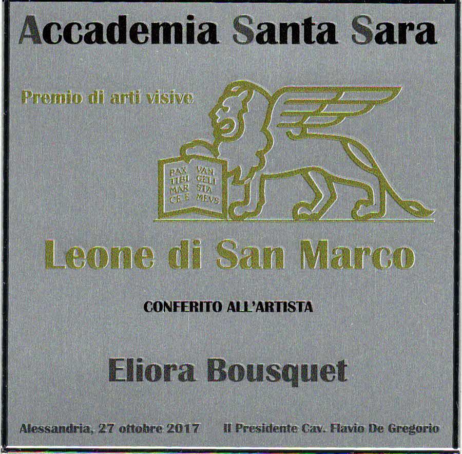 Painting Awards - Art Eliora Bousquet