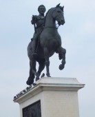 Statue d'Henri IV  - Photo : EB (illustration)