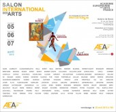 Carton d'invitation au Salon de l'AEAF 2013 (C) AEAF / AXA DESIGNS