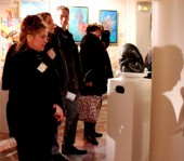 Vernissage du Salon de l'AEAF 2013  - Photo : EB (illustration)
