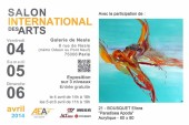 Salon de l'AEAF 2014 - Carton d'invitation d'Eliora Bousquet