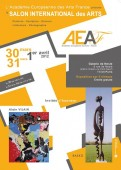 "Affiche du ""Salon international des arts 2012"" (C) AEAF"