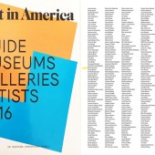 Eliora Bousquet in Art in America Guide 2016