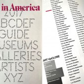 Art in America Guide 2017 Eliora Bousquet and all artists Artupclose NY