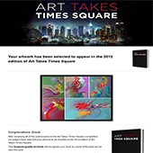 Art Takes Times Square : The Book