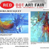Red Dot Art Fair Miami 2015 - Eliora Bousquet