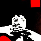Portrait pop art d'Edith Piaf par Eliora Bousquet