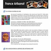 Newsletter n° 9 France Artisanat