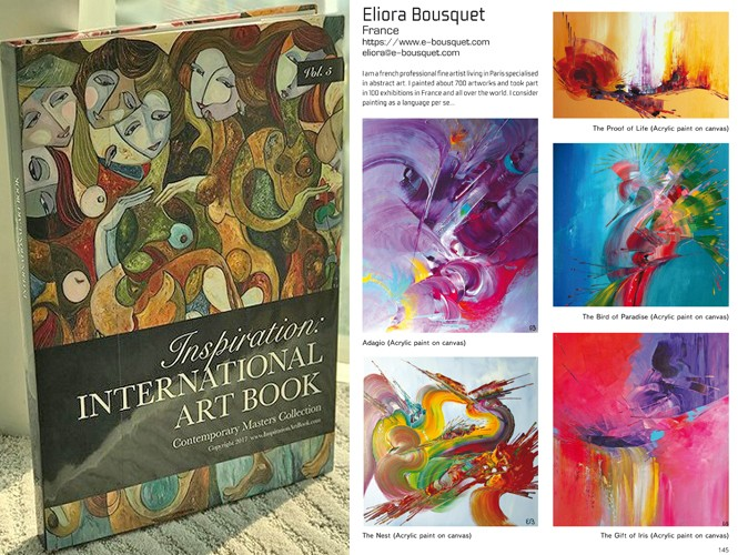 Inspiration Art Book 2017 Eliora Bousquet
