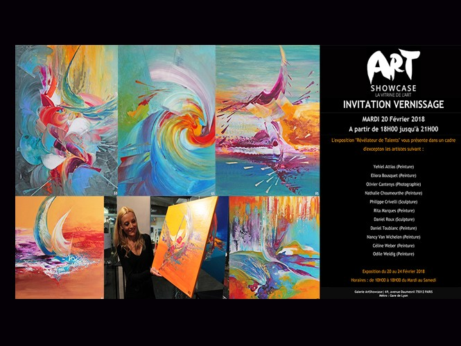 invitation artshowcase eliora bousquet 02-18-2