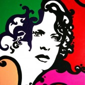 Portrait pop art de Meg Ryan 1 par Eliora Bousquet