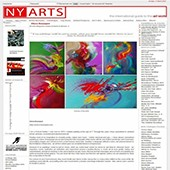 Site web du NY Arts Magazine