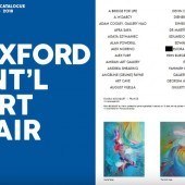 Oxford International Art Fair 2018 Catalogue Eliora Bousquet