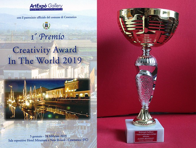 trophee eliora bousquet et catalogue creativity award 2019